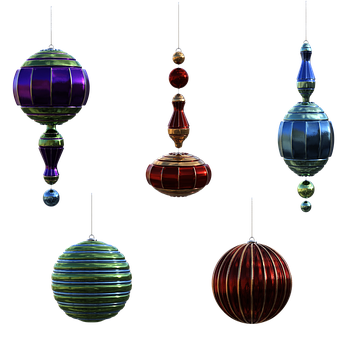 Christmas, Ornaments, Baubles, Decorations, Holidays