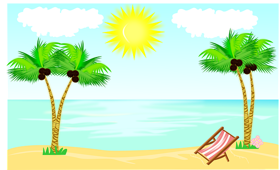 Summer, Clipart, Nature, Storytelling, Trees