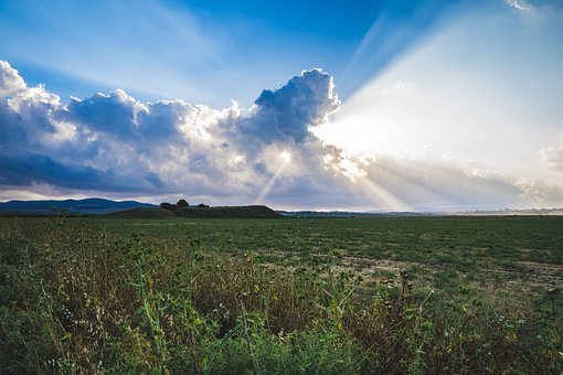 Sunset, Horizon, Landscape, Nature, Blue, Travel, Light