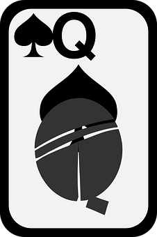 Spades, Queen, Card, Game, Cards, Play, Poker, Casino