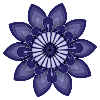 Openclipart, A Circular Pattern, Decorative, Flowers