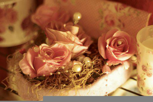 Wedding, Roses, Bouquet, Love, Decoration, Petal