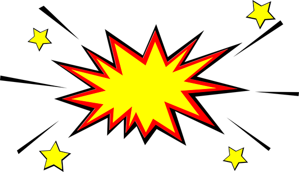 Explosion, Starlets, Impact