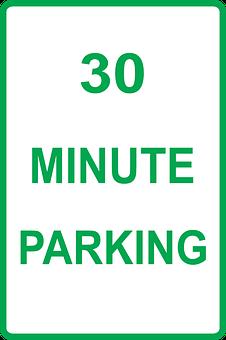 Parking, Instruction, 30, Minutes, Car, Park, Time
