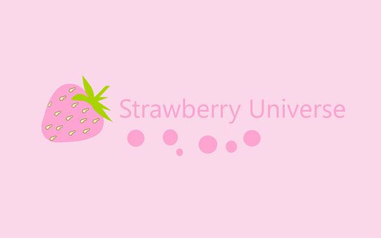 Strawberry Juice, Strawberries, Pink, Background, Candy