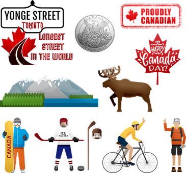 Canada, Tourist Attraction, Maple Leaf, Yonge Street