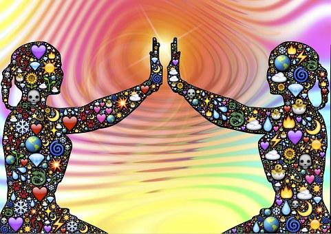 Alive, Energy, Divine, Silhouette, Life, Emoji, Body