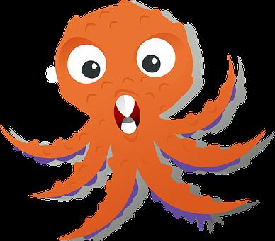 Octopus, Kraken, Sea Life, Animal