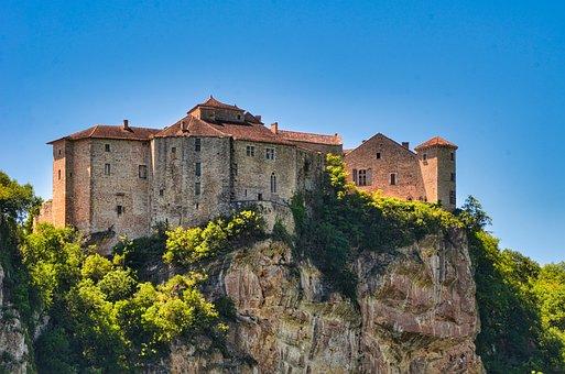 Castle, Fortress, Pierre, Medieval, Antique