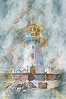 Lighthouse, Building, Architecture, Beacon, Sea, Coast