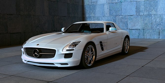Amg, Mercedes, Sls, Sports Car, Autos, Automobile