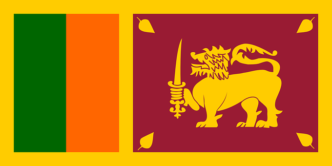 Sri Lanka, Flag, Country, Nation, Asia