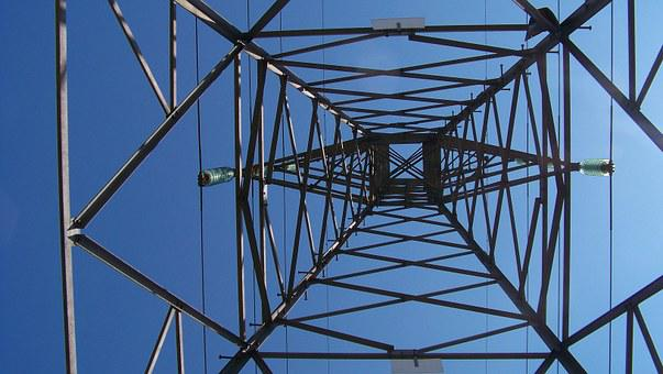 Electricity, Tension Tower, Abstract