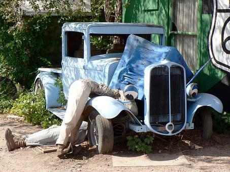 Rattletrap, Route 66, Old Car, American