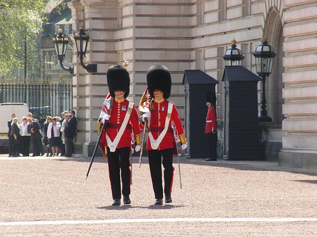 Buckingham Palace, Changing Of The Guard, London