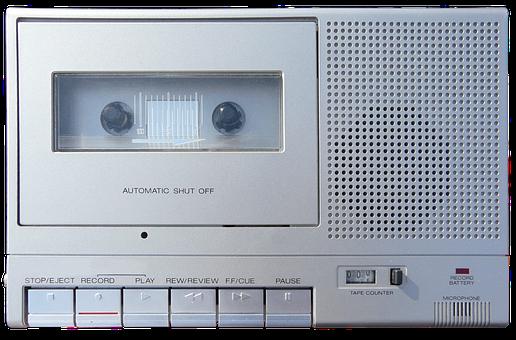 Cassette Recorder, Cassette Player, Vintage, Retro