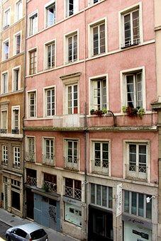 Lyon, France, Window, Architecture, City, Historically