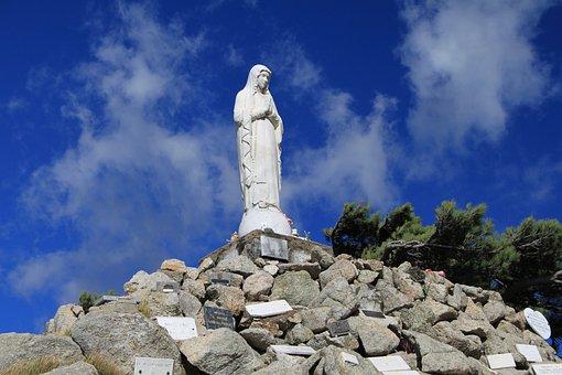 Religion, Corsican, Col Of Bavella, Virgin