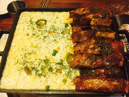 Food, Cooking, Cheese Ribs, Meat, Such Ribs