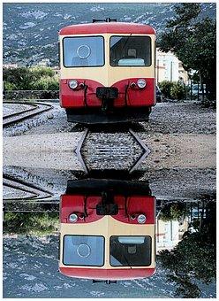 Train, Traveler, Corsican, Little Train, Promenade
