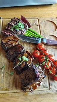 Calf, Fillet, Restaurant, Meat, Food