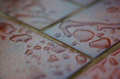 Rain, Raindrop, Floor, Stone Floor, Flow, Wet