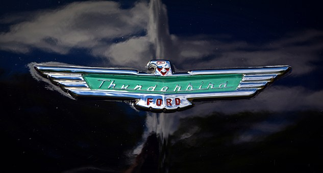 Brand, Thunderbird, Ford, Symbol, Characters, Feature