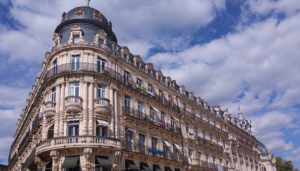 France, Montpellier, Balconies, Dome, Xixè Architecture