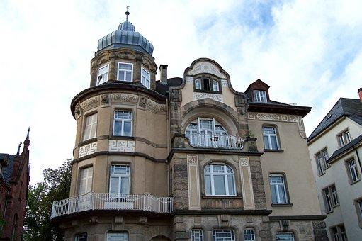 Art Nouveau, Gründerzeit, Weststadt, Heidelberg