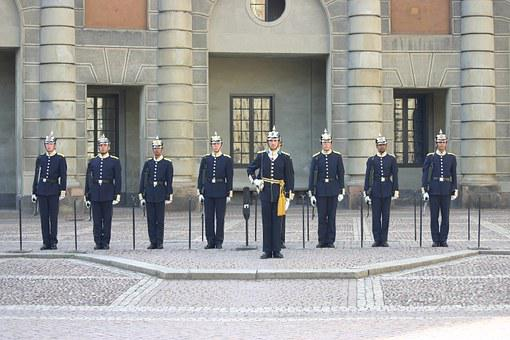 Changing Of The Guard, Guard, Sweden, Stockholm, Palace