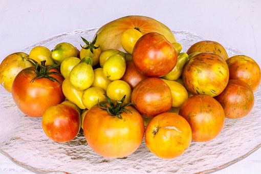 Tomatoes, Harvest, Red, Yellow, Vegetable, Agriculture