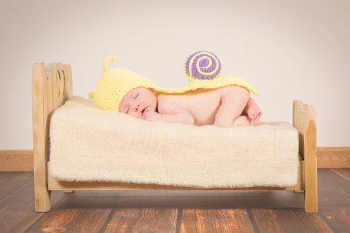 Baby, Sleep, Small Child, Hug, Girl, Tired, Safety