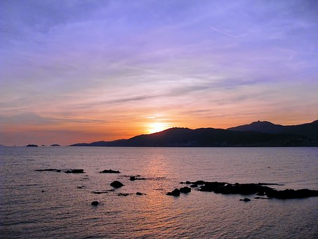 Corsican, Ajaccio, Bloodthirsty, Islands, Sunset