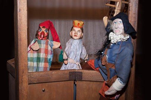 Theater, Kasper, Play Dolls, Puppet Theatre, Doll, Fig