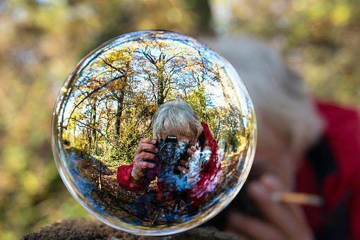 Photographer, Hobby, Profession, Glass Ball, Leisure