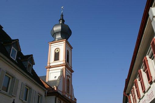 Magdalenenkirche, Gernsheim, St Maria Magdalena, Church