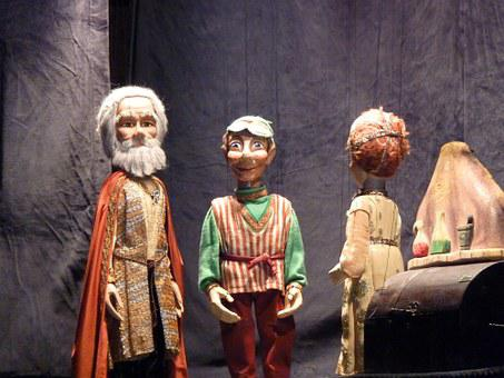 Marionettes, Theatre, Theater, Toy, Performance