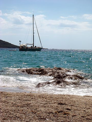 Boat, Propriano, Corsican, South Corsica, France