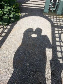 Shadow, Love, Silhouette, Romance, Valentine, Happy