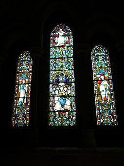 Stained, Glass, Window, Church, Stained Glass