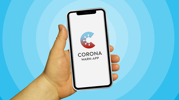 Mobile Phone, Corona-warning-app, Hand, Corona App, Ios