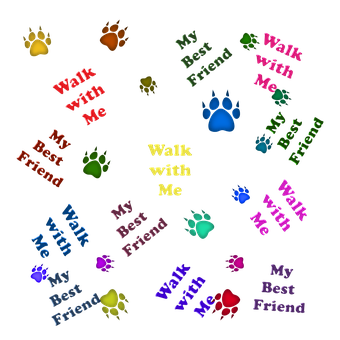 Animals, Pets, Dogs, Paws, Colorful, Best Friend
