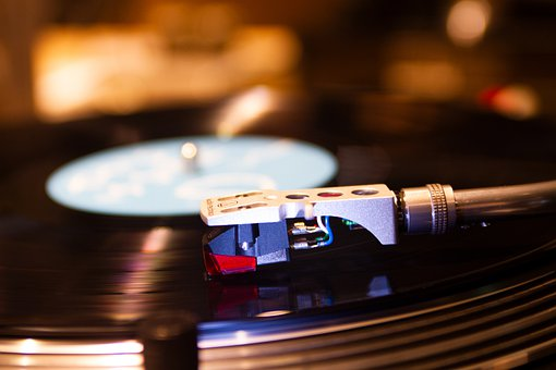Turntable, Media, Music, Record, Audio, Spin, Disk