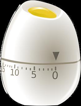 Egg, Timer, Clock, Egg-timer, Time, Minutes, Kitchen