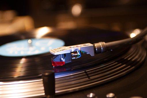 Turntable, Music, Vinyl, Record, Audio, Sound, Dj