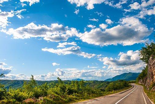 Bosnia And Herzegovina, Nature, Mountains, Sky, Clouds