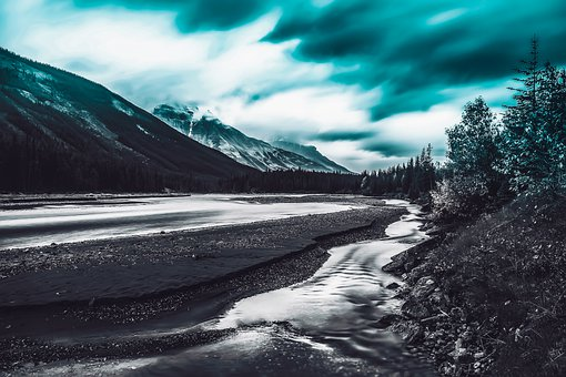 Sky, Mountain, Landscape, Nature, Clouds