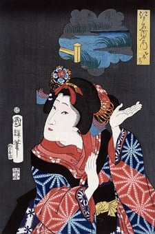 Japanese, Maiden, Young, Woman, Female