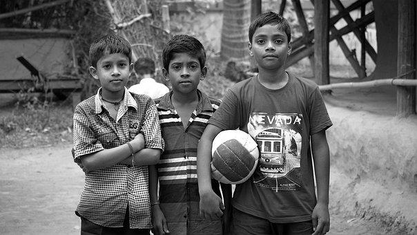 Friends, Village, Friendship, Playmate, Children