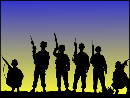 Soldiers, Military, Army, Militia, Warriors, Soldier